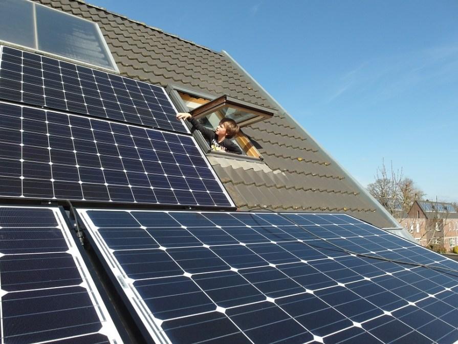 solar panels for energy