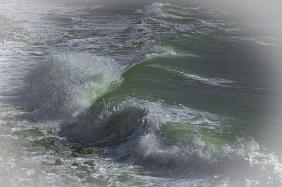 Ressac de la mer
