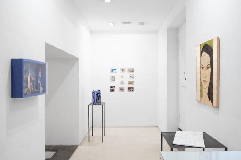 Expositie Reflecting realilty in de galerie