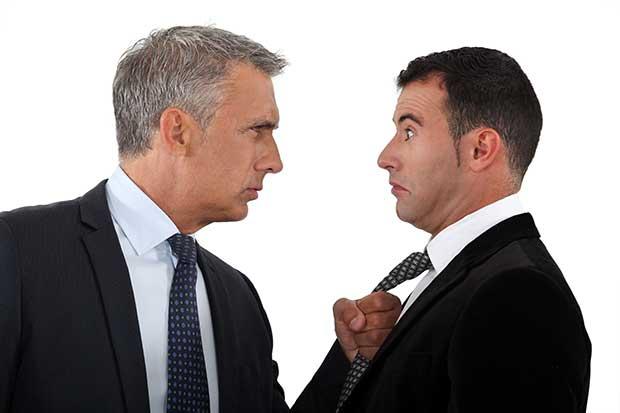 bigstock-Boss-threatening-employee-38536018
