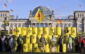 manifestazione contro il nucleare