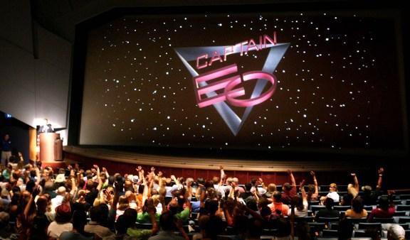 La proiezione Captain EO a Disneyland