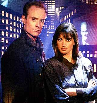 Edison Carter/Max Headrom/Matt Frewer + Theora Jones/Amanda Pays