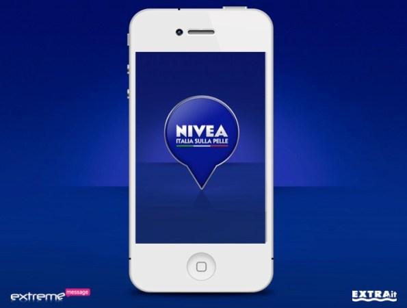 App Nivea Tour Copertina