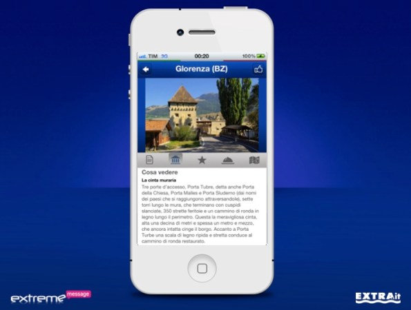 App Nivea Tour iPhone Scheda 2
