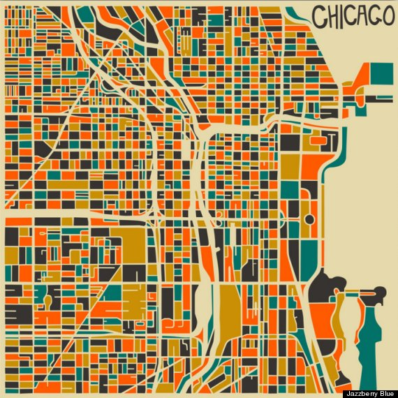 CHICAGO - JAZZBERRY BLUE