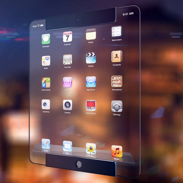 ipad_Transparent concept