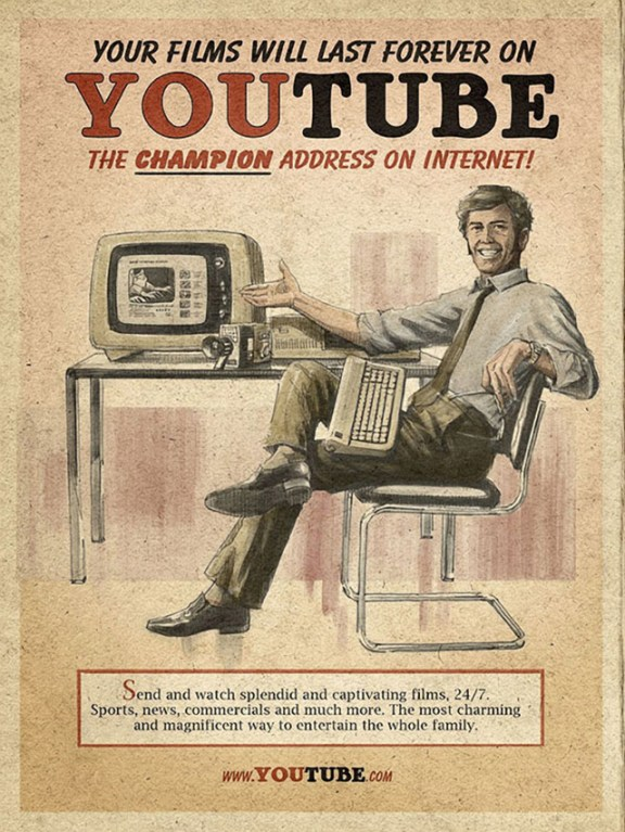 Vintage YouTube ADV by Moma