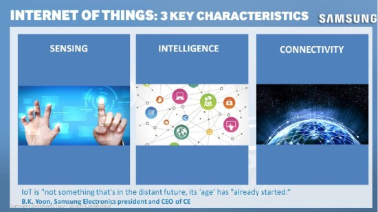 Samsung IoT Strategy 3 key