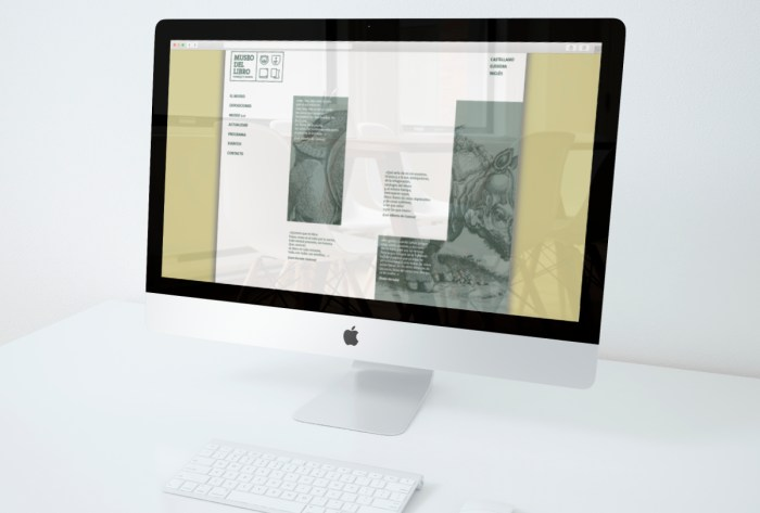 Presentacion web Museo del Libro