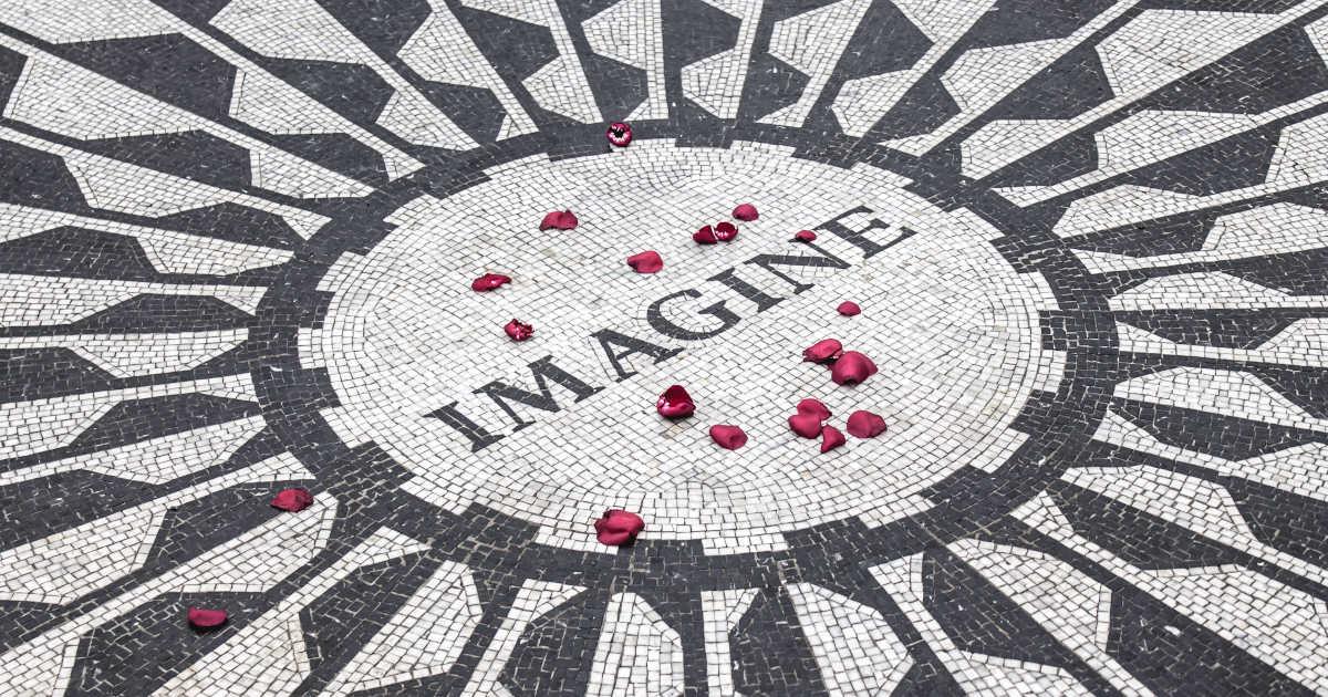 """Il mosaico della scritta """"image"""""""