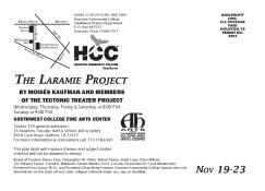 Laramie Project Postcard Draft