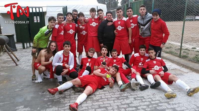 Calcio, gli Allievi del Città di Nicosia campioni provinciali