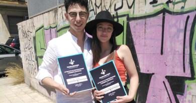 Nicosia, i cantanti Elena Campione e Filippo Motta passano alla seconda fase del Tour Music Fest