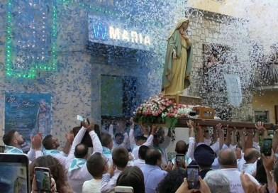 Nicosia, la processione della Madonna dell'Aiuto – VIDEO