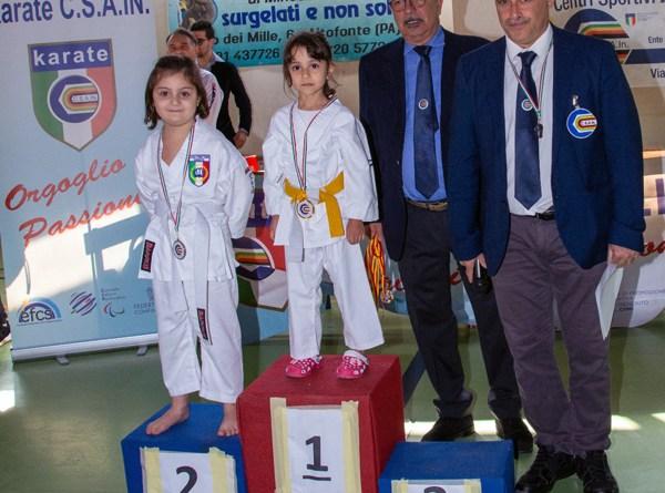 Arti marziali, pioggia di medaglie al trofeo Csain di Altofonte per il Karate Club di Nicosia