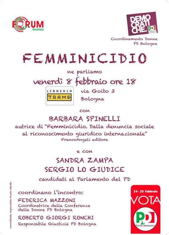 0133-13 PD locandina femminicidio