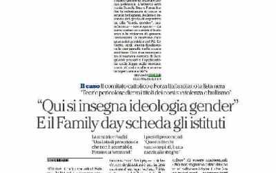 Family Day e Forza Italia, la schedatura delle scuole è un'intimidazione fascista
