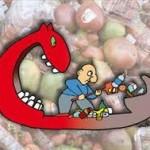 Cibo: si produce meno e si spreca di più