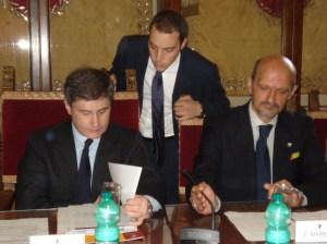 Conferenza stampa Forum Società civile 2009