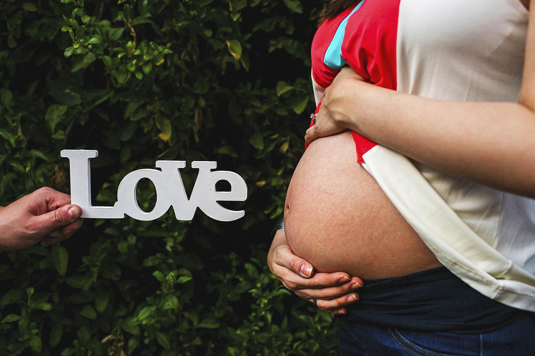 Fotos de embarazo en San Angel