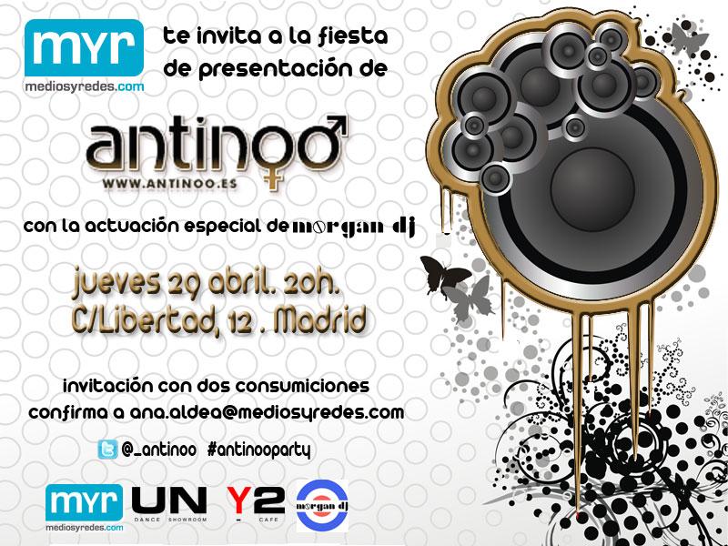 El jueves inauguramos una nueva Web: antinoo.es