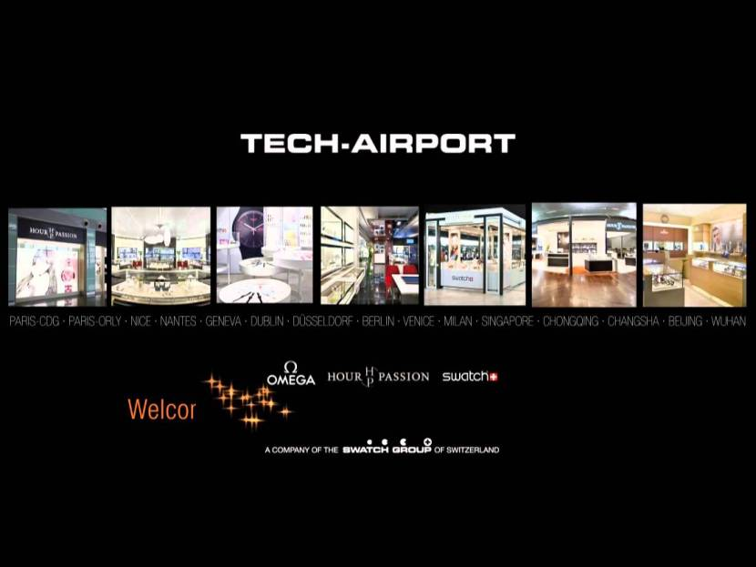 Swatch - Carte de vœux de Tech Airport
