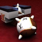 Projets 3D - Louis Vuitton - Baby Boom