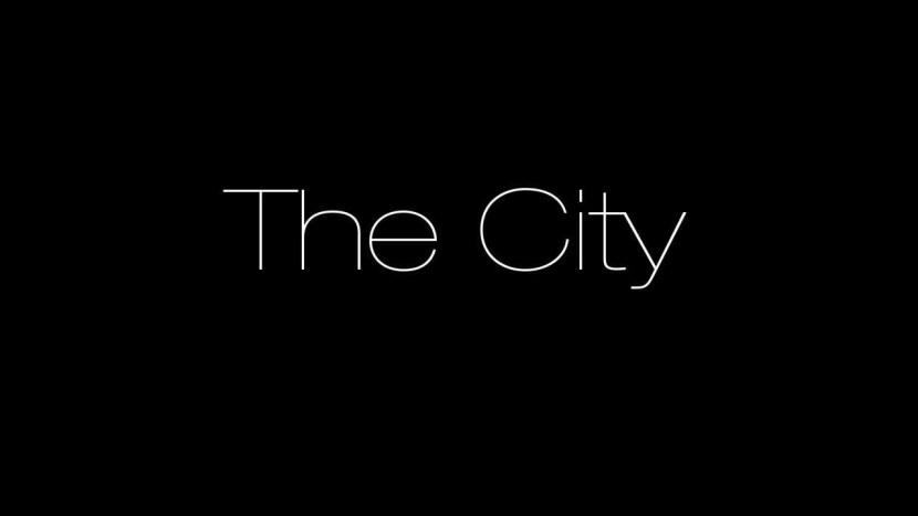 """Animatique """"The City"""" réalisée en collaboration avec Alexandre Tchoubanoff"""