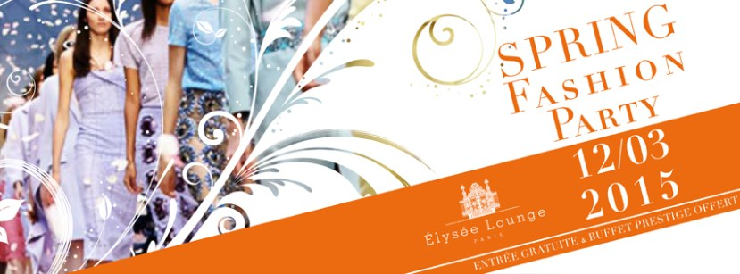 E-Flyers - Spring Fashion Party