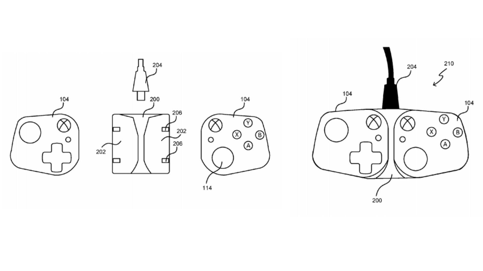 Indices de brevets Microsoft sur les contrôleurs Xbox pour