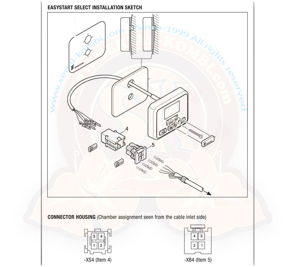 hight resolution of  easystart select control hydronic airtronic ebersp cher heater