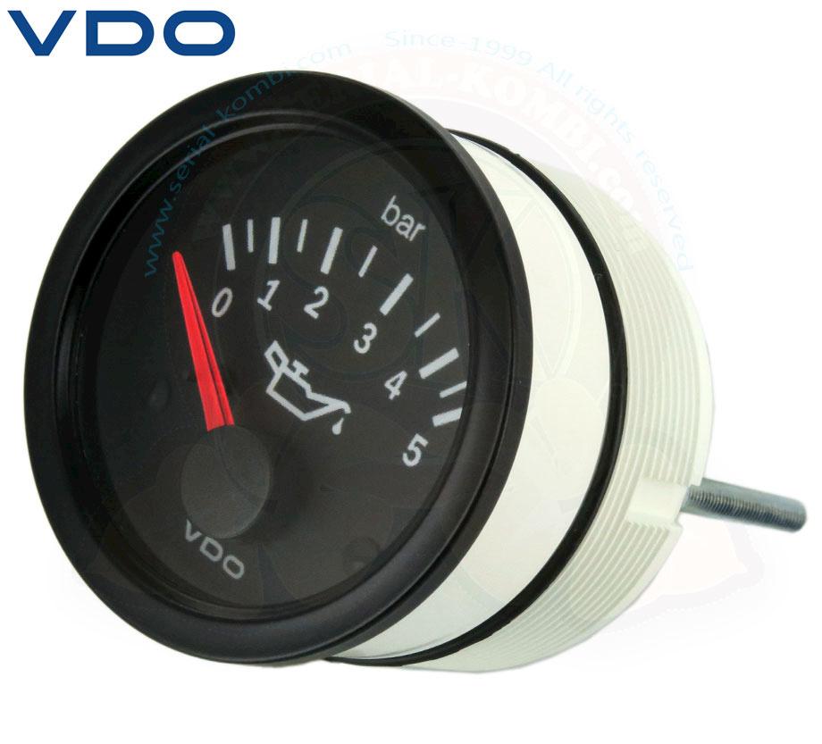 Indicatore pressione olio 05 bar VDO 52mm 1200cc2000cc SKT93215