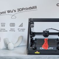 Creality 3DPrintMill CR-30: test of the 3D printer with infinite rolling plate!
