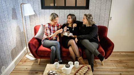 La team de Le Buro des Possibles St Michel Bordeaux salon de thé coworking