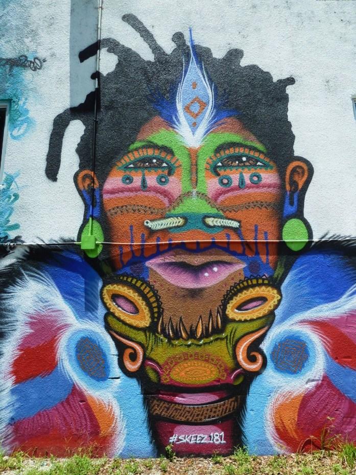 femme street art wynwood miami