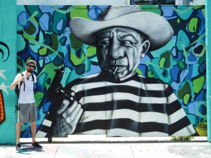 Wynwood Picasso street art