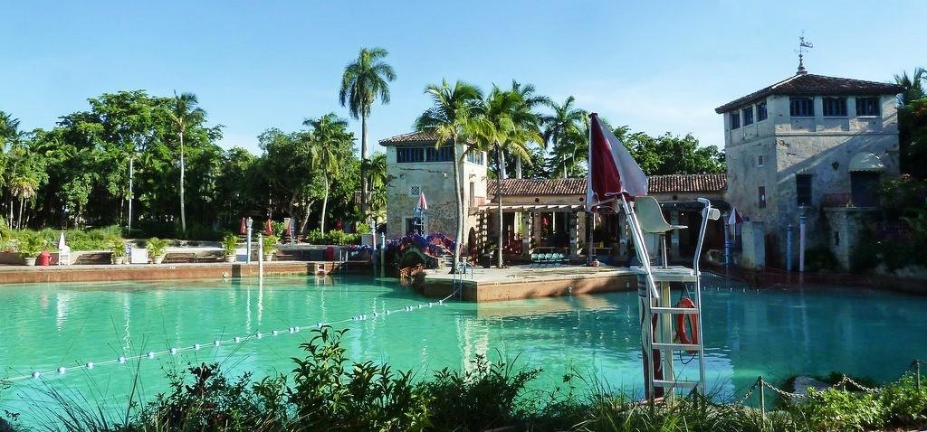 piscine publique de Coral Gables venetian style