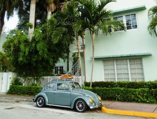 Que faire à Miami ? Une coccinelle vintage