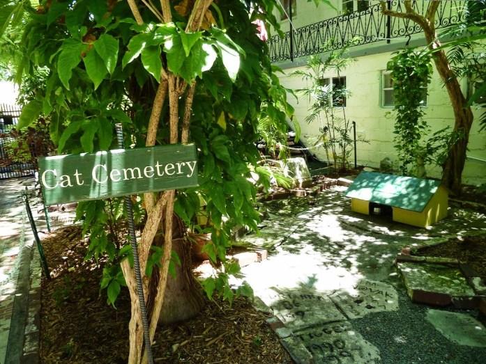 Keys cimetière aux chats maison hemingway