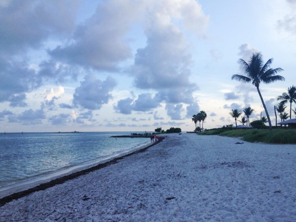 Keys plage deserte sombrero beach