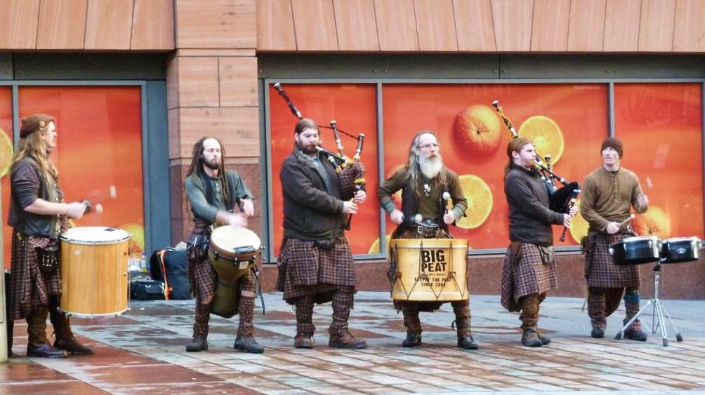 glasgow musiciens écossais