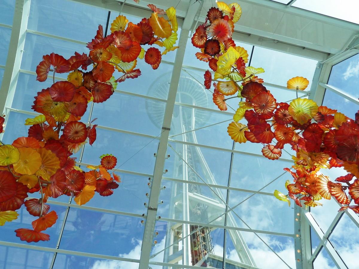 Le Chihuly Garden and Glass, une visite coup de cœur à Seattle