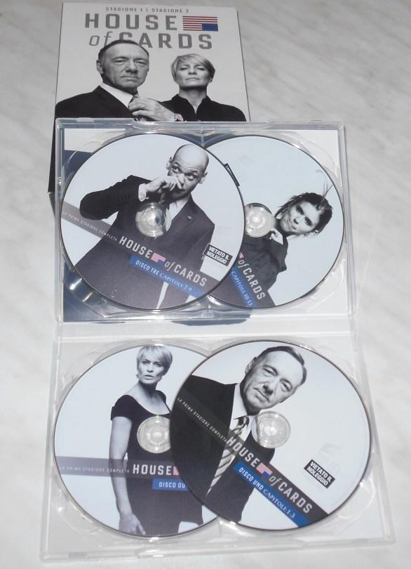 L'Angolo del Cofanetto – House of Cards 1-2 [DVD]