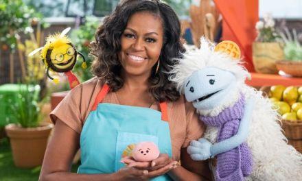Gaufrette et Mochi les deux nouvelles mascottes de Michelle Obama vont faire aimer la cuisine aux petits (et aux grands)