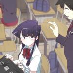 Komi cherche ses mots : l'anime débarque en octobre sur Netflix à raison d'un épisode par semaine