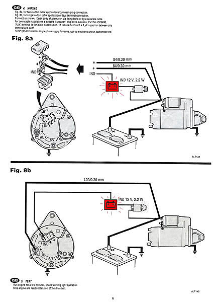 Wiring Alternator Diagram