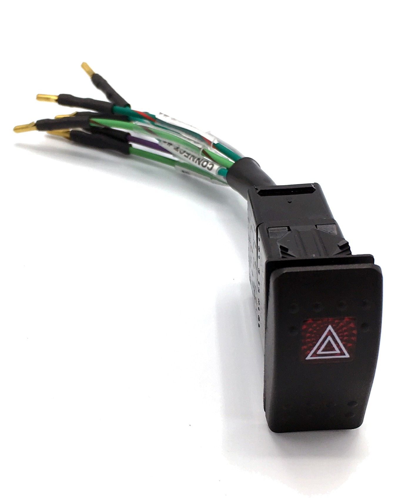 hight resolution of hazard switch wiring harness includes carling hazard switch multiplug