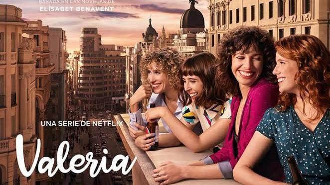 Valeria (Temporadas 1 y 2) HD 720p (Mega)