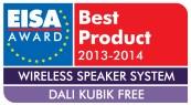 EISA Award for the DALI Kubik Free